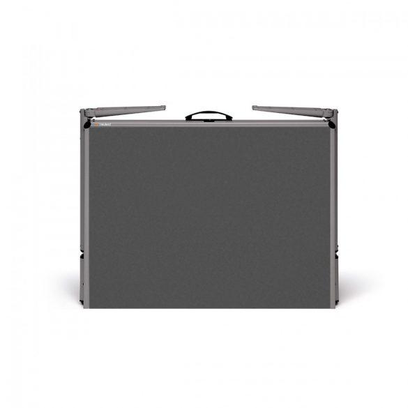 EuroPin® MC Pinboard: grey alu/black foam board