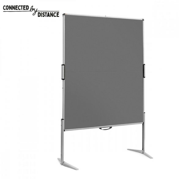 EuroPin® MC Pinboard: grey alu/anthracite