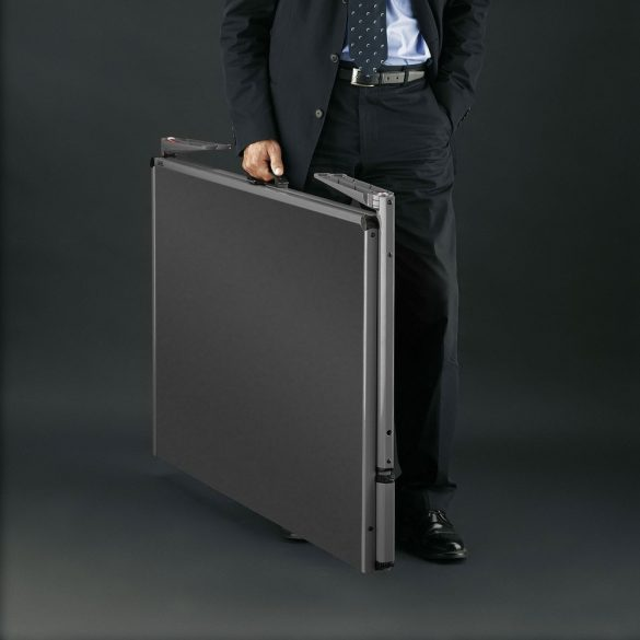 Panou Textil Pliabil Neuland Pinboard EuroPin® MC, Gri Deschis