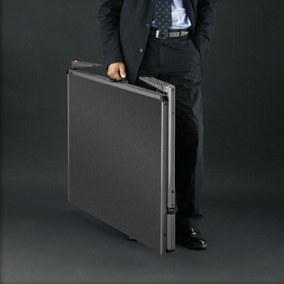 Panou Textil Pliabil Neuland Pinboard EuroPin® MC, Negru