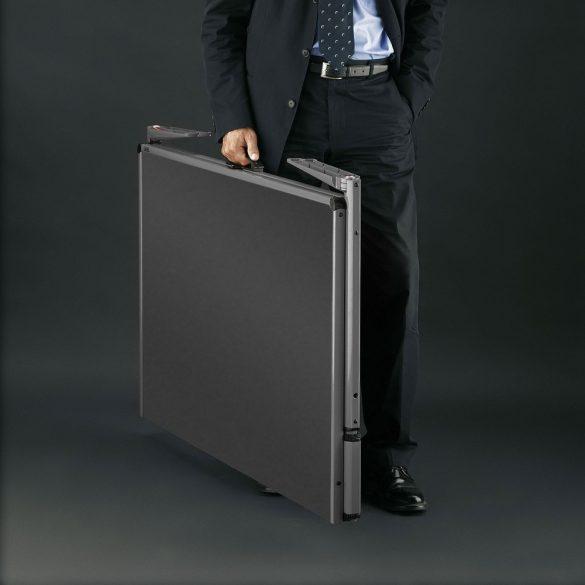 Panou Textil Pliabil Neuland Pinboard EuroPin® MC, Rosu Intens