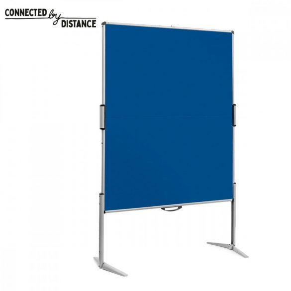 Panou Textil Pliabil Neuland Pinboard EuroPin® MC, Albastru Marin