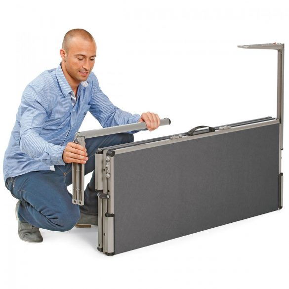 EuroPin® MC² Pinboard: grey alu/apple felt cover