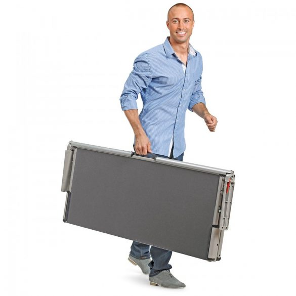EuroPin® MC² Pinboard: grey alu/ocean felt cover