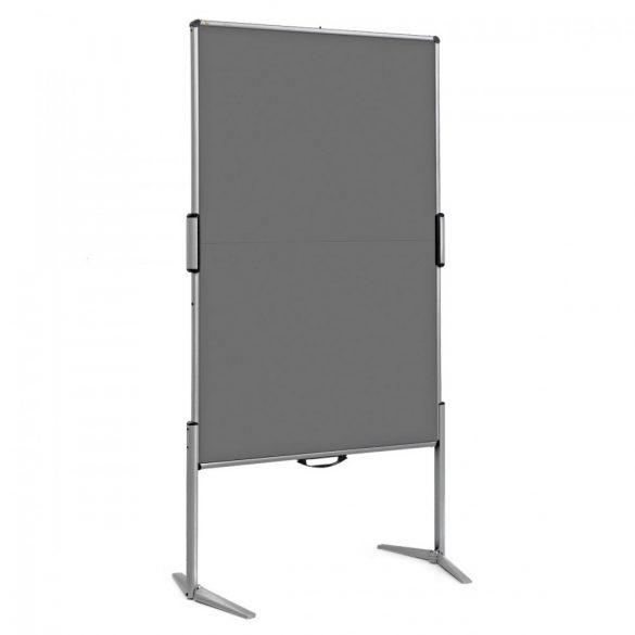 EuroPin® MC Mini Pinboard: grey alu/anthracite felt cover (STANDARD)