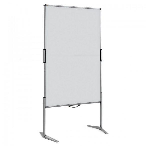 EuroPin® MC Mini Pinboard: grey alu/light grey felt cover
