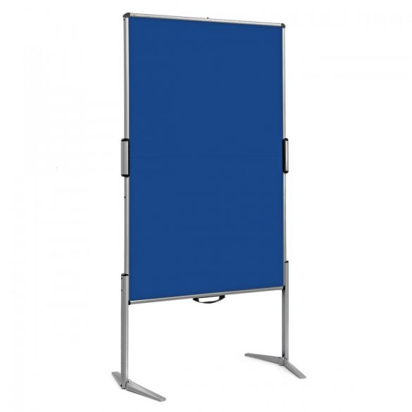EuroPin® MC Mini Pinboard: grey alu/marine felt cover
