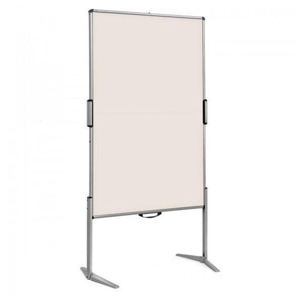 EuroPin® MC Mini Pinboard: grey alu/natural white felt cover