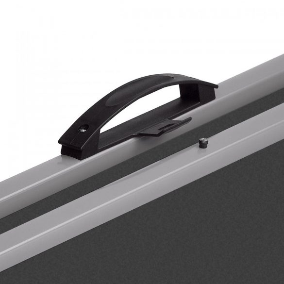 EuroPin® MC Mini Pinboard: grey alu/ocean felt cover