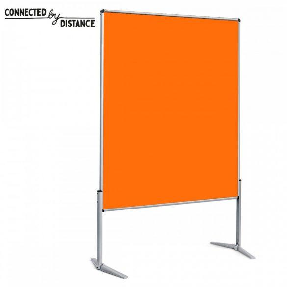 Panou Textil Pinboard Non-Pliabil EuroPin© UT: Fetru Tangerine