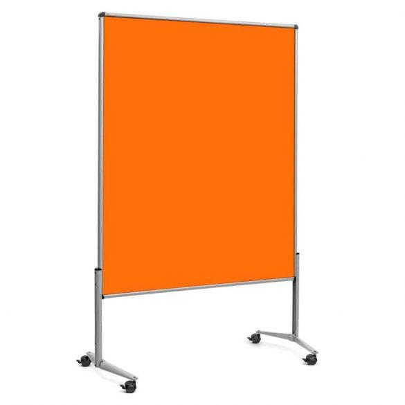 Panou Textil Mobil Neuland Pinboard EuroPin© UT Slide: Fetru  Portocaliu Tangerine