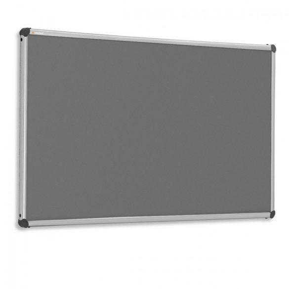 EuroPin® W, Wall pinboard 90 x 120 cm - Anthracite (STANDARD)