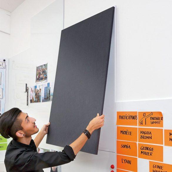Panou Textil Pinboard de Perete WorkingWall 75 x 112,5 cm - Anthracite (STANDARD)
