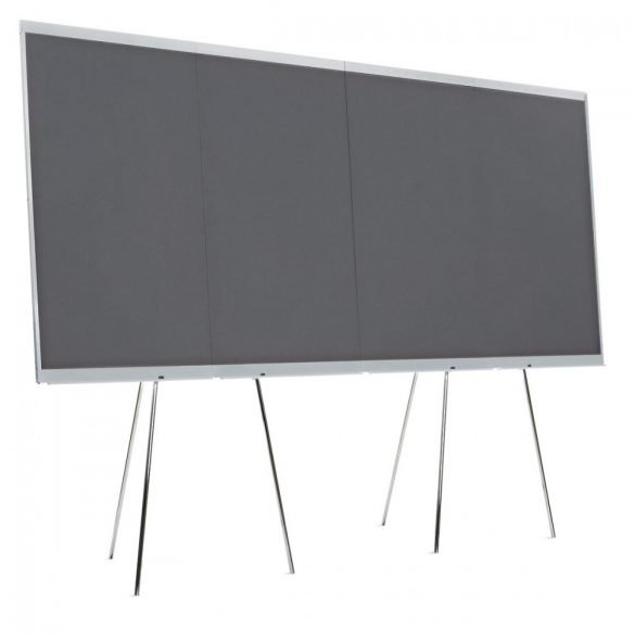 LW-X Graphic Wall, 4 Board Elements/Set - felt anthracite