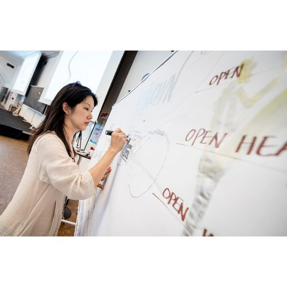 Panou Textil Prezentare Seminar Grafic Wall V3 XL