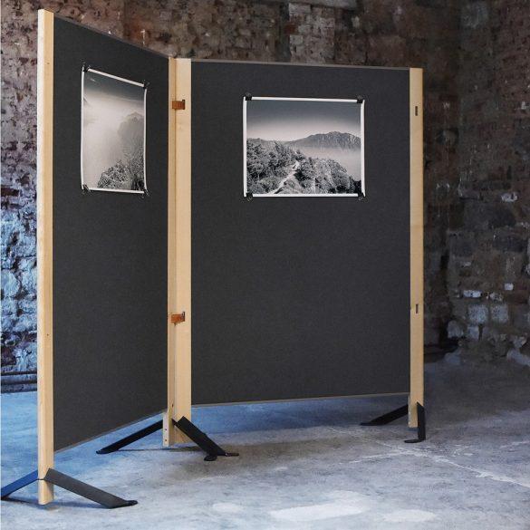 "Perete Despartitor cu Panou Textil Pinboard Neuland ""The Wall"""