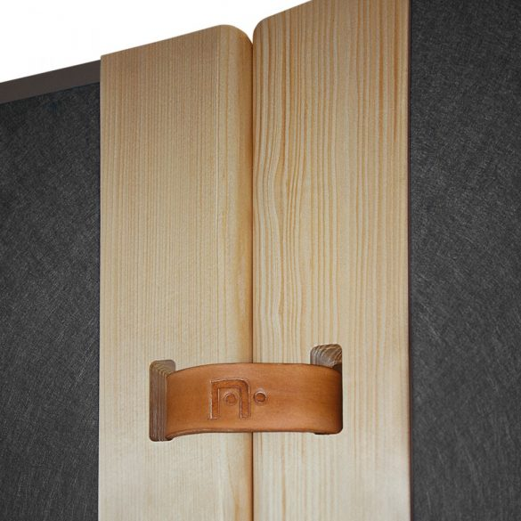 """Curea Piele Panou Prezentare LeatherStrap for """"The Wall"""""""
