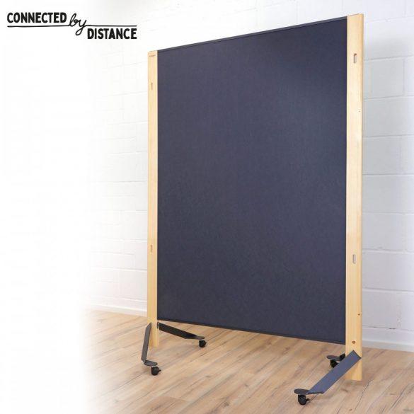 Tablă Pinboard Mobilă - The Wall Slide