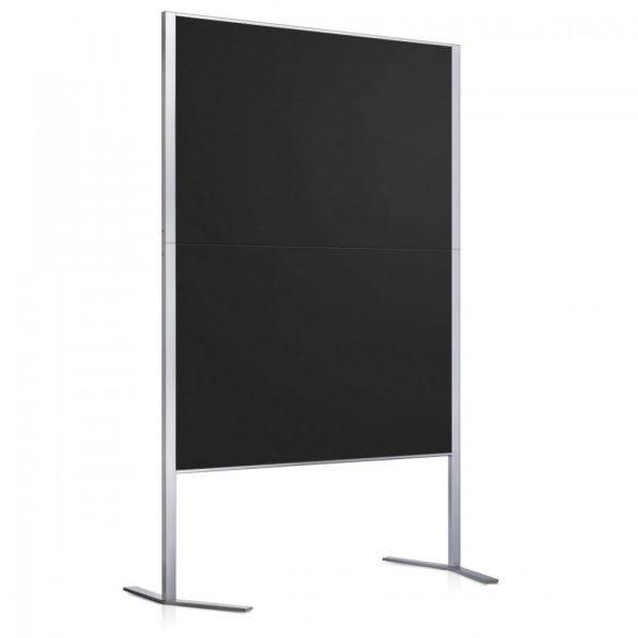 LW-11E Pinboard: silver/black foam board