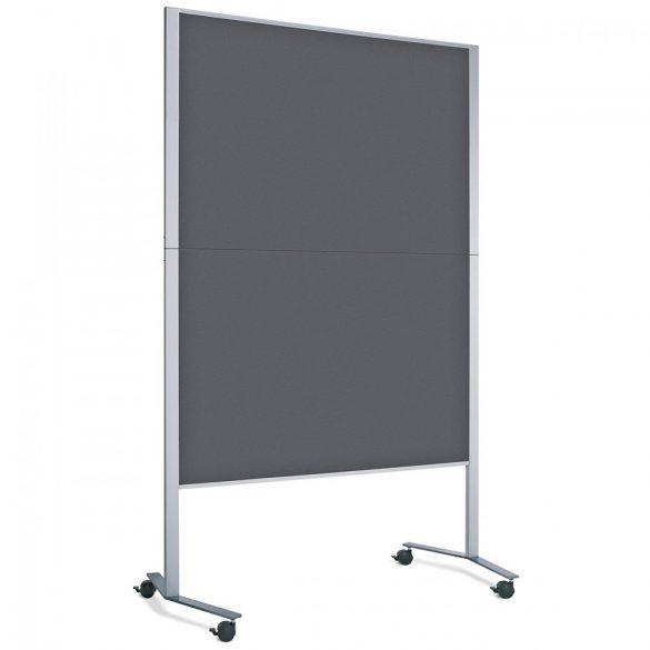Panou Textil Pinboard Mobil LW-11E Slide: Antracit (standard)