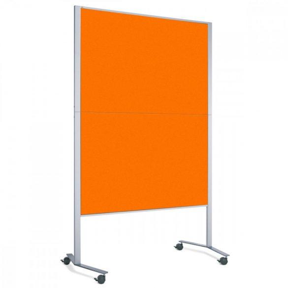 Panou Textil Neuland Pinboard Mobil LW-11E Slide: Portocaliu Tangerine