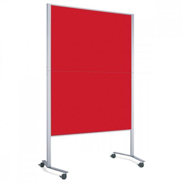 Panou Textil Pinboard Mobil LW-11E Slide: Rosu