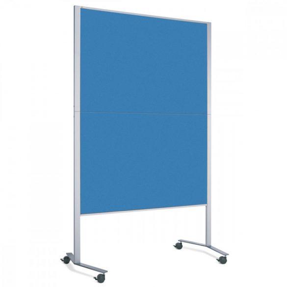 Panou Textil Neuland Pinboard Mobil LW-11E Slide: fetru Albastru Azur