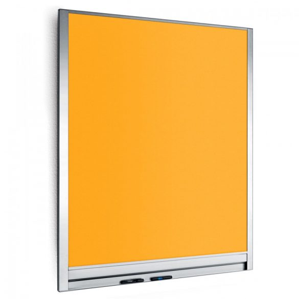 LW-P Wall Pinboard, 82,5 x 108 cm - Yellow