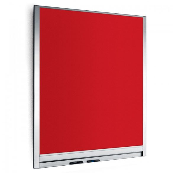 Panou Textil de Perete Neuland LW-P Wall Pinboard 82,5 x 108 cm, fetru Rosu
