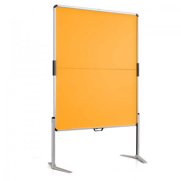 ClassicPin MC Pinboard: grey alu/yellow felt