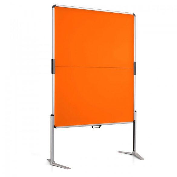 ClassicPin MC Pinboard: grey alu/tangerine felt