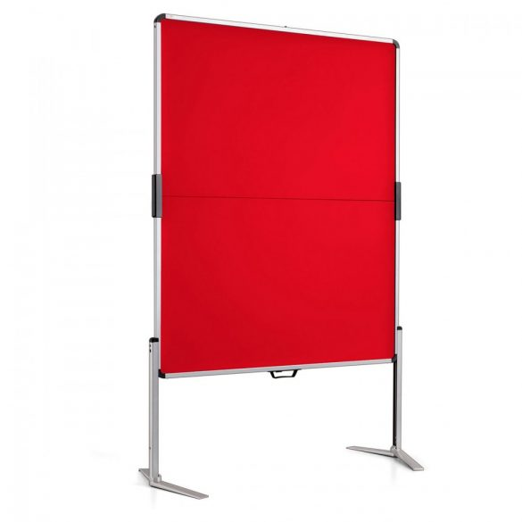 ClassicPin MC Pinboard: grey alu/signal red felt