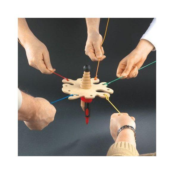 "Joc colaborativ team building ""Trage Sfoara"""