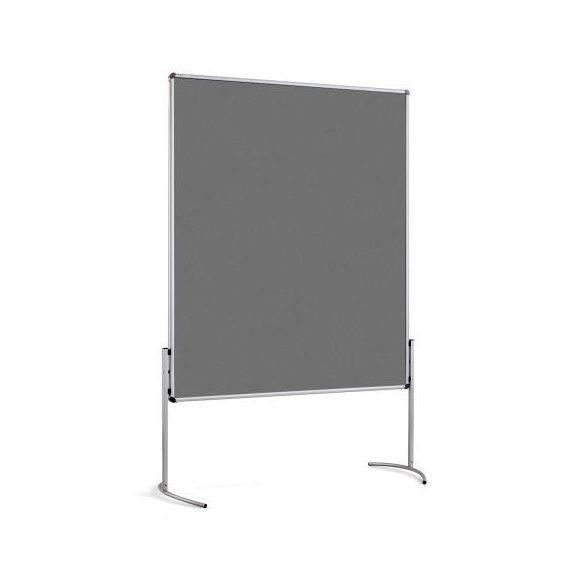 NovoPin2 UT-B Pinboard: grey alu/anthracite