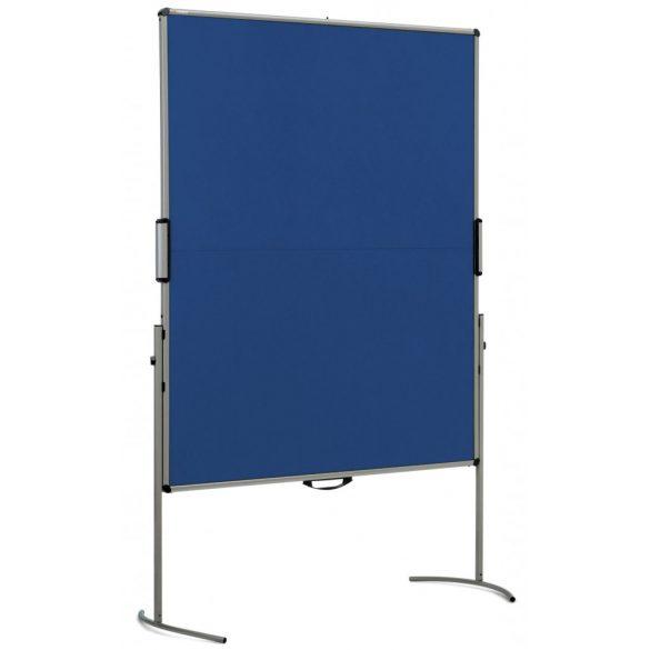 UniPin® 2 MC-B Pinboard: grey alu/marine felt cover