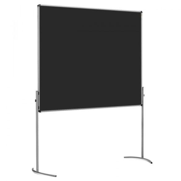 UniPin2 UT-B Pinboard: grey alu/black foam board