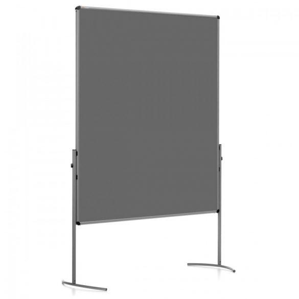 UniPin® 2 UT-B Pinboard: grey alu/anthracite