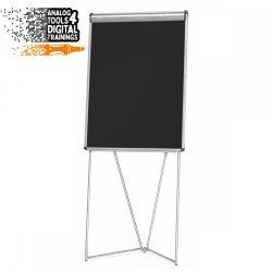 EuroFlip® FlipChart: grey alu/black foam board
