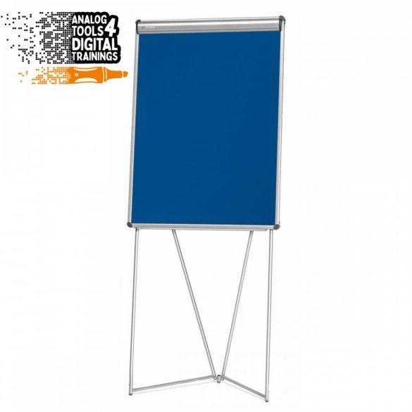 Flipchart Pinboard Neuland EuroFlip® , Fetru Albastru Marin