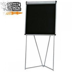 InstaFlip: grey alu/black foam board
