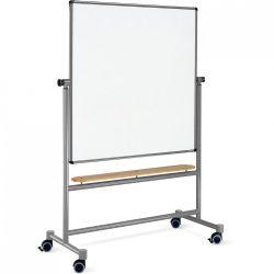 SwitchBoard 150 x 150 cm: grey alu/natural