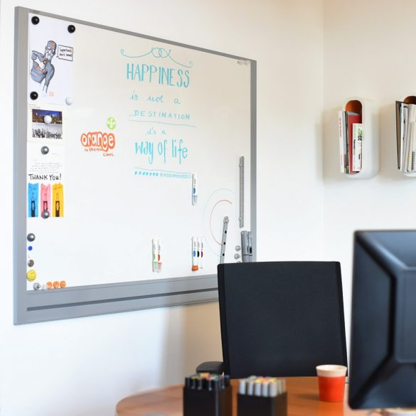 Tablă Albă Magnetică Whiteboard LW-M MagBoard® 122,5 x 108 cm