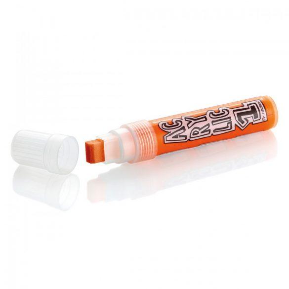 Marker Acrilic Neuland AcrylicOne Big varf tesit,  8-15 mm AC 509 Portocaliu