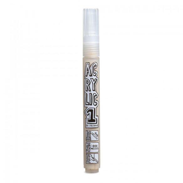 Marker Acrilic Neuland AcrylicOne MEDIUM, varf rotund 2,5 mm, Bej