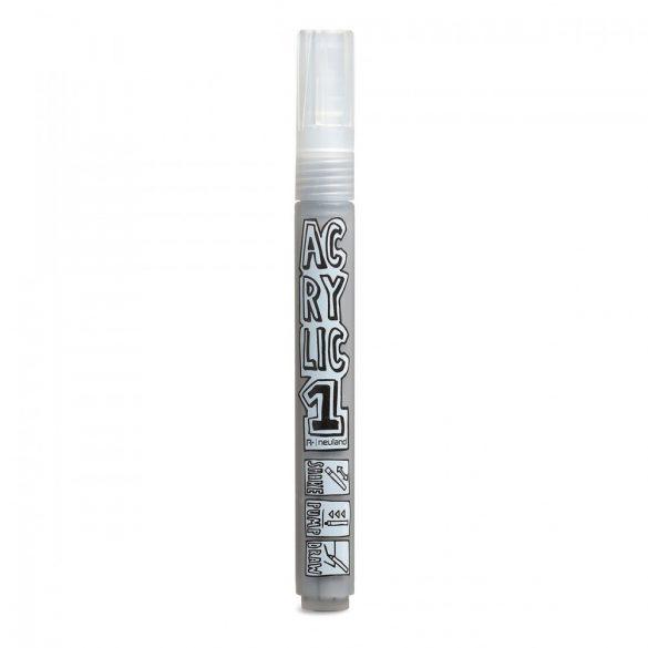 Marker AcrylicOne MEDIUM, varf rotund 2,5mm, Gri
