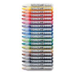 Set 19 markere acrilice Neuland AcrylicOne MEDIUM, varf rotund 2,5 mm