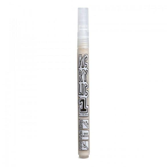 Marker Acrilic Neuland AcrylicOne FINE, varf rotund 1,5 mm, Beige