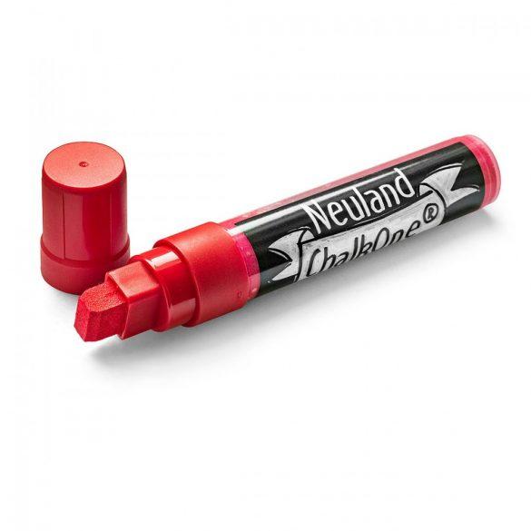 Marker cu Creta Lichida Neuland ChalkOne®, varf tesit 5-15 mm (C511) Rosu