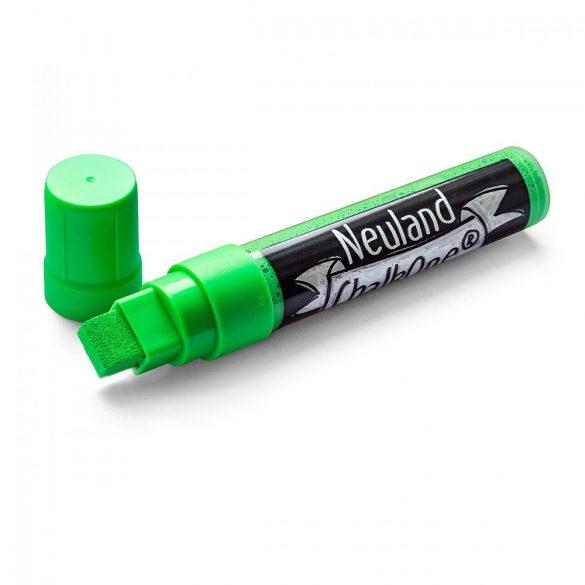 Marker cu Creta Lichida Neuland ChalkOne®, varf tesit 5-15 mm (C539) Verde