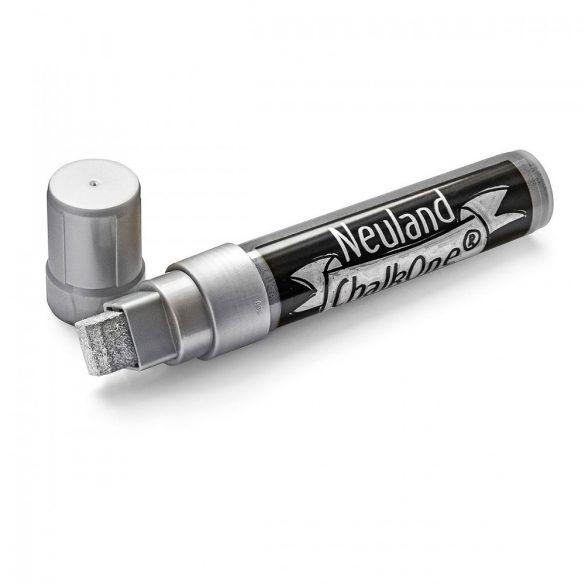 Marker cu Creta Lichida Neuland ChalkOne®, varf tesit ârf 5-15 mm (C551) Argintiu